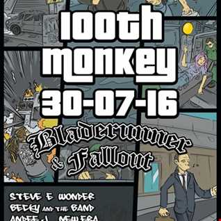 Andee J live @ 100th Monkey on 3 decks 30.7.16