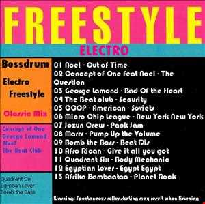 Electro Freestyle Classic 80's-90's Mix