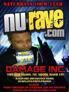 Damage Inc.,Old Skool Nu Skool Mash Up 19 Oct 13