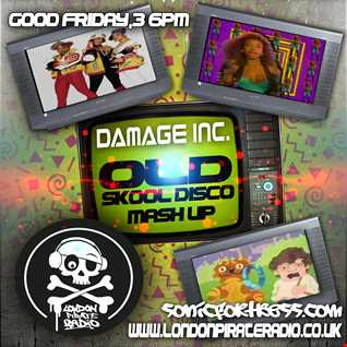 The Old Skool Disco Mash Up,Live on www.londonpirateradio.co.uk Good Friday