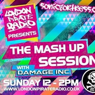 Damage Inc. live on London Pirate Radio,Sunday 15th January 2017
