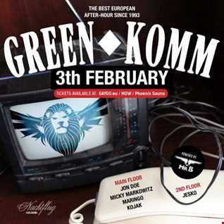 GREEN KOMM 3th Feb