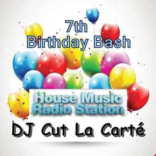 DJ Cut La Carte   7th Birthday Bash of House Music Radio Station