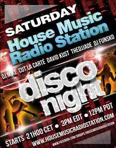 Live at House Music Radio Station 12.10.13