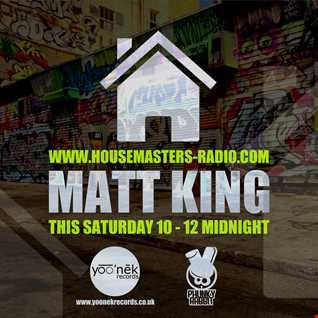 dj matt king on www.housemasters-radio.com 11th oct 2014