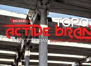 Topo Presents Active Brand 105 (Insomniafm)
