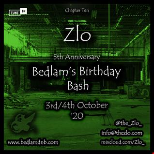 BedlamRadio - Chapter Ten, Part One #BedlamBirthdayBash #Bedlams5thAnniversary [Drum & Bass Show]