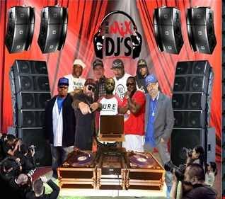 6 djs 2 hours special guest (dj lebron)
