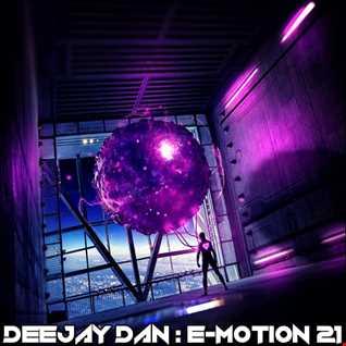 DeeJay Dan - E-motion 21 [2018]