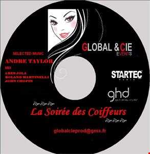 ***** LA SOIREE DES COIFFEURS SELECTED MUSIC by  ANDRE TAYLOR ***** MIX  ABES JOLA - ROLAND MARTINELLI - JOHN CHOPIN