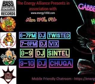 Dj Twisted  17th Feb Energy1058 Hardcore Night