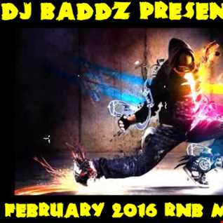 DJ Baddz February 2016 RnB Medley