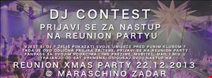 Reunion Xmas Zadar DJ Contest Mix by Shh!