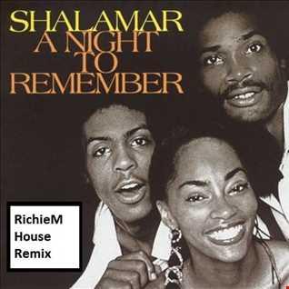 Shalamar   A Night To Remember RichieM House Remix