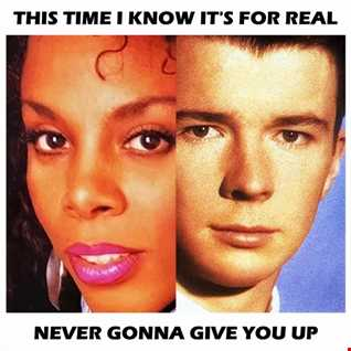 Donna Summer & Rick Astley   This Time I Know Its For Real & Never Gonna Give You Up