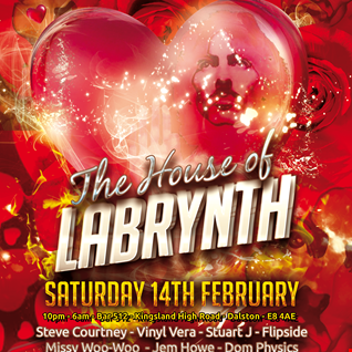 Dom Physics Recorded Live @ Club Labrynth Radio's Valentines House of Labrynth event 14/02/2015