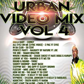 RNB XCLUSIVE URBAN VIDEO MIX VOL4