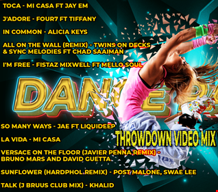 THROW DANCE PARTY VIDEO MIX VOL27
