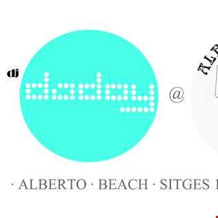 dj dadoy @ ALBERTO BEACH SITGES (19/8/2012)