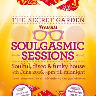 SoulGasmic sessions 2016 promo mix