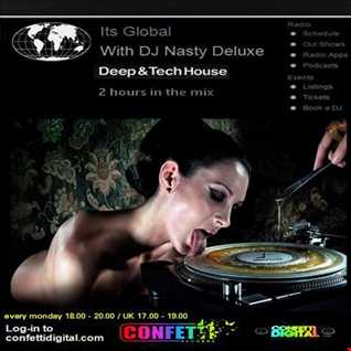 Dj Nasty deluxe - It's Global - Confetti Digital / UK - London - 23. 02. 2015