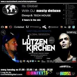 Global Session - Dj Nasty deluxe, Lutzenkirchen - Confetti Digital UK / London