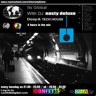 """""""It's Global"""" - Confetti Digital - Uk / London - Mixed by Nasty deluxe"""