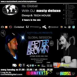 Global Session - Dj Nasty deluxe, Peter Gold - Confetti Digital UK / London