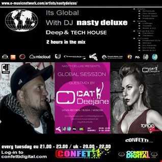 Global Session   Nasty deluxe, Cat Deejane Ekaterina   Confetti Digital UK   London