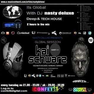 Global Session - Nasty deluxe, Kai Schwarz / Confetti Digital UK - London