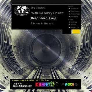 Dj Nasty deluxe - It's Global - Confetti Digital - UK / London - Podcast 16. 02. 2015