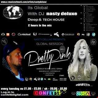 Global Session - Dj Nasty deluxe, Pretty Pink - Confetti Digital UK / London