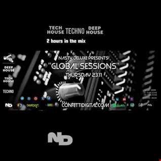 A Deep, Progressive Global Session - Nasty Deluxe - Confetti Digital London / UK