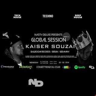 Global Session - Nasty Deluxe, Kaiser Souzai - Confetti Digital London