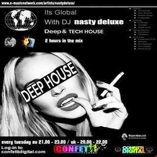 It's Global - Confetti Digital UK / London / Deep Session - Mixed by Nasty deluxe (2)