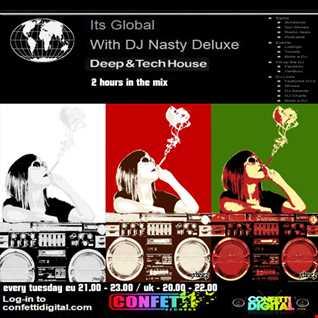 Dj Nasty deluxe  - It's global - Confetti Digital - UK - London - 02. 06. 2015