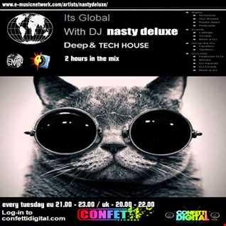 Dj Nasty deluxe  - It's Global - UK / London - Tech House Session