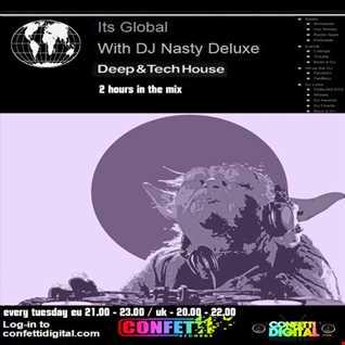 Dj Nasty deluxe - It's global - Confetti Digital - UK / London - Podcast 12. 05. 2015