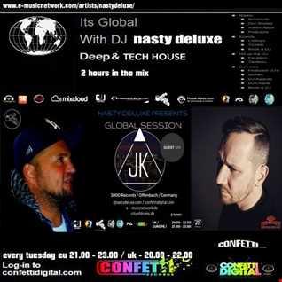 Global Session - Nasty deluxe, Just Karl / Confetti Digital UK - London