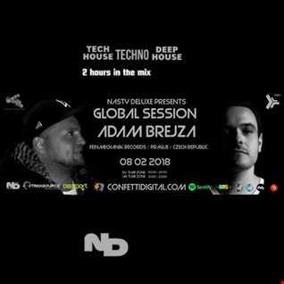Global Session - Nasty Deluxe, Adam Brejca - Confetti Digital London - UK