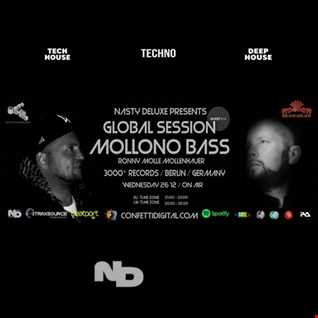 Global Session - Nasty deluxe, Mollono Bass - Confetti Digital London