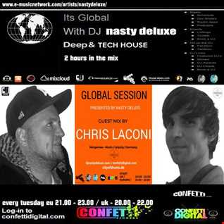 Global Session - Nasty deluxe, Chris Laconi - Confetti Digital UK / London