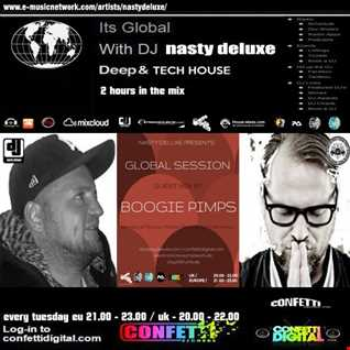 Nasty deluxe, Boogie Pimps - New Year's Eve Class Mix / Confetti Digital UK - London