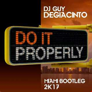 Do It Properly - DJ Guy DeGiacinto 2K17 Bootleg