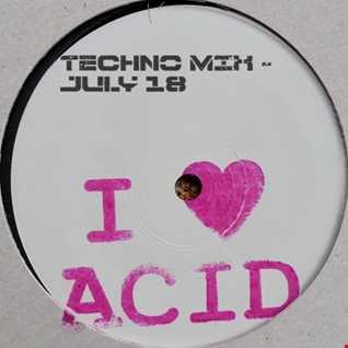 I ❤ Acid - Techno Mix - July 18