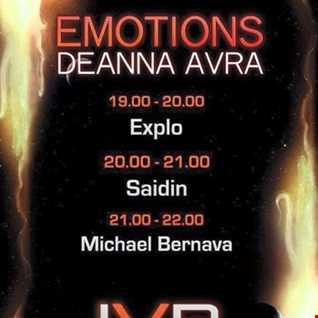 Explo - Emotions Deanna Avra Show 10.01.2015.