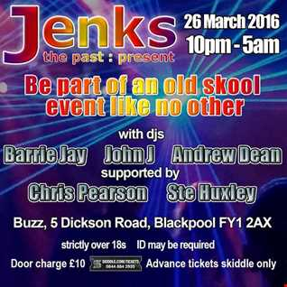 Jenks - Buzz - Blackpool - 26th March 2016