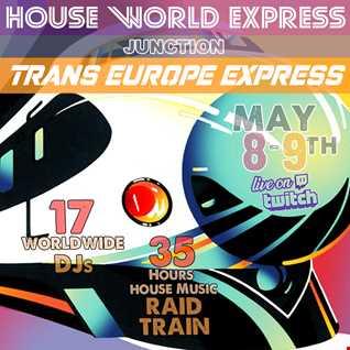 05-08-2021 MBJWORLD MIX RADIO - HOUSE WORLD EXPRESS RAID TRAIN SET
