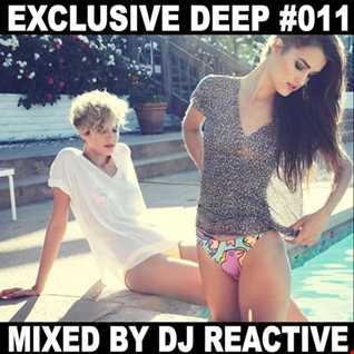 Dj Reactive Exclusive Deep 011 (Mixed by Dj Reactive)