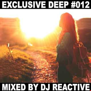 Dj Reactive Exclusive Deep 012 (Mixed by Dj Reactive)